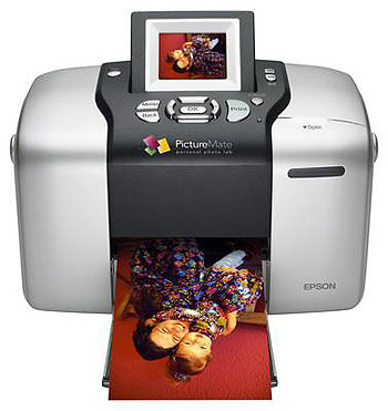 Epson PictureMate PM PM 500 Printer Reset
