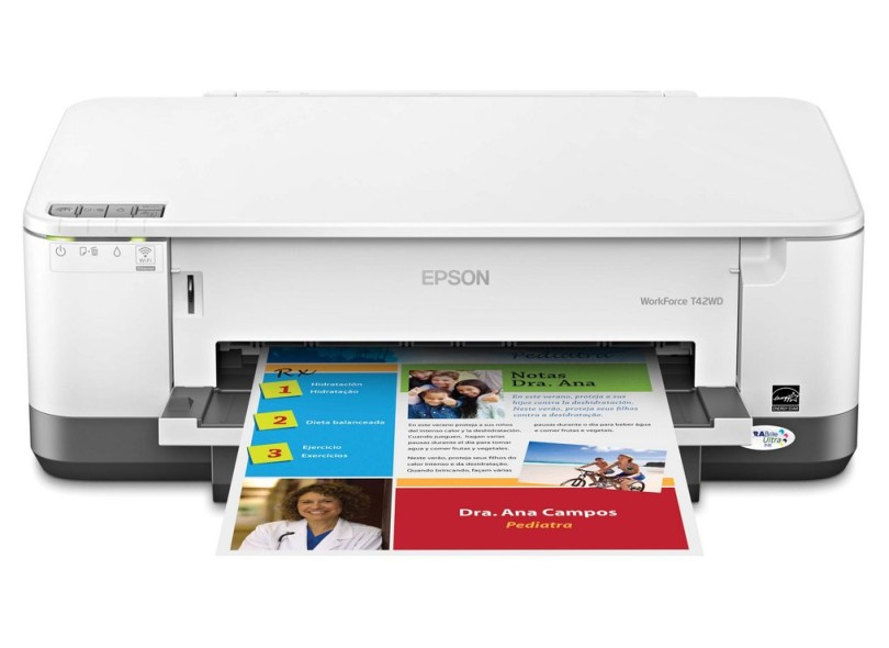 Epson T T42WD New Printer Reset