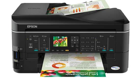 Epson ME ME960FWD Printer Reset
