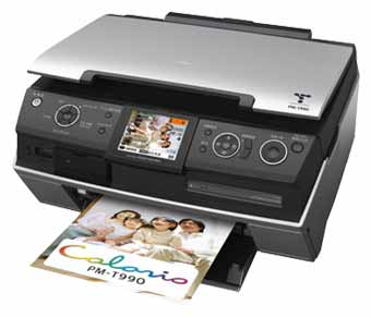 Epson PictureMate PM PM-A970 Printer Reset