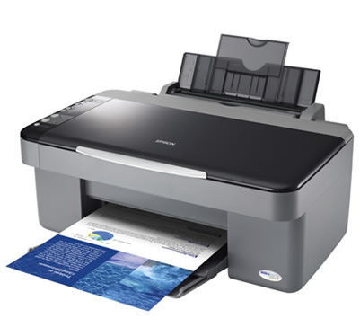 Epson DX DX4000 New Printer Reset