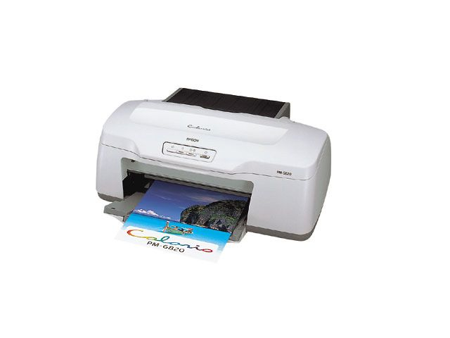 Epson PictureMate PM PM-A820 Printer Reset