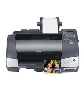 Epson Photo 825  WIC Printer Reset