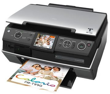 Epson PictureMate PM PM-T990   (CN) Printer Reset