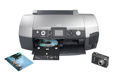 Epson PictureMate PM PM-G850   (CN) Printer Reset