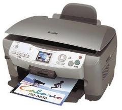 Epson PictureMate PM PM-A870  WIC Printer Reset