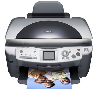 Epson RX RX625 Printer Reset