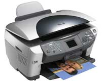 Epson RX RX600 Printer Reset