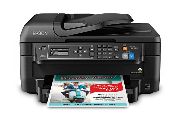 Epson WorkForce WF-2751 (K) Printer Reset