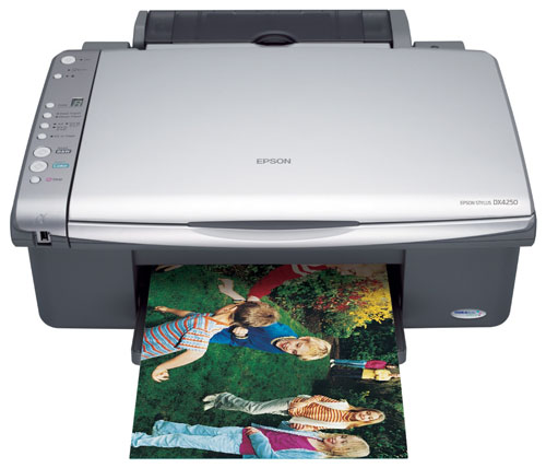 Epson DX DX4250 Printer Reset